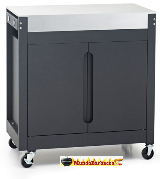 Carrito auxiliar de Barbacoas Barbecook Brahma K Cart