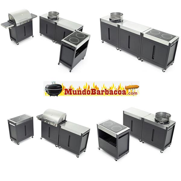 Cocinas modulares Barbecook Brahma K