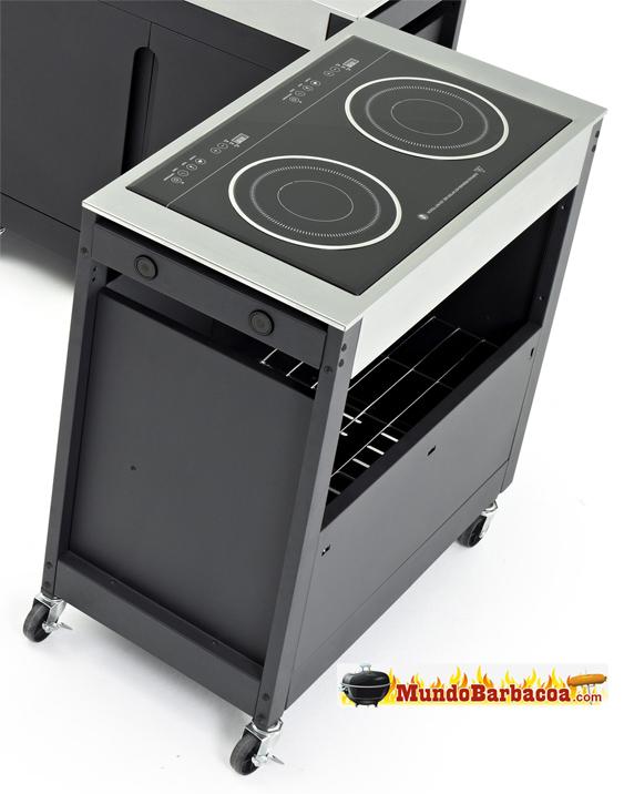 Cocina - Barbacoa de Inducción Barbecook Brahma Induction, Cocina Modular