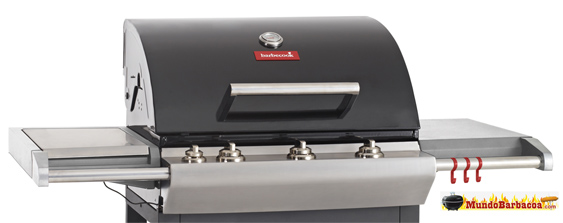 Barbacoas a gas Barbecook Impulse 4.0 Black