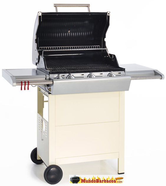 Barbacoas de gas Barbecook Impulse 4.0 Snow, la barbacoa blanca