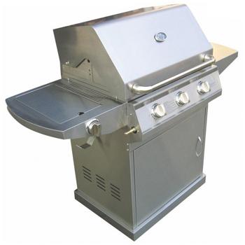 Barbacoa de Gas Sunrise 4 quemadores con tapa horno