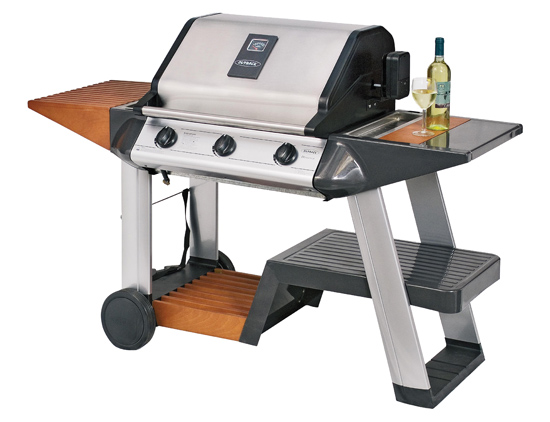 Barbacoa de Gas Outback Diamond 3 quemadores