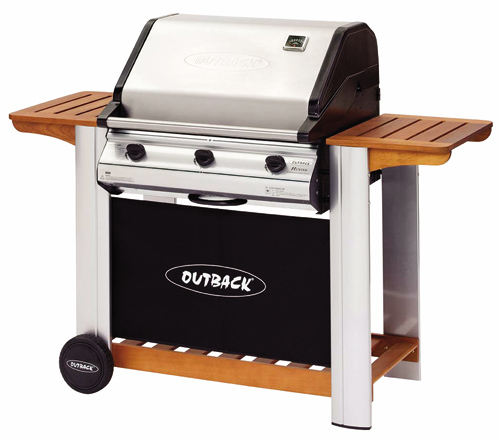 Barbacoa de Gas Outback Hunter 3 Inox Plus.