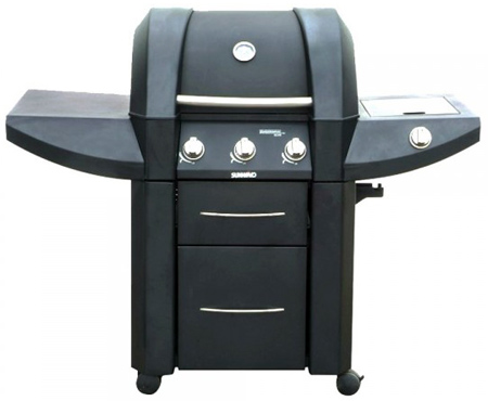 Barbacoa de Gas Sunwind Ohio plus de 3 quemadores