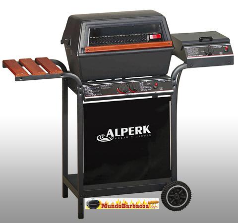 Barbacoas a gas Alperk Sicilia con cocina lateral y horno