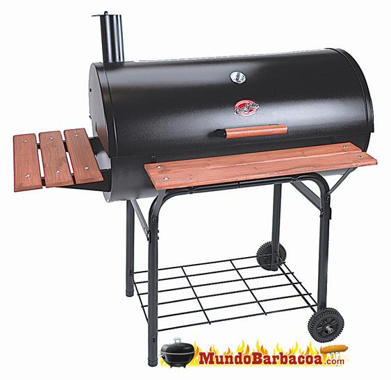 Barbacoa de leña y carbón Char-Griller Outlaw. BAR2137