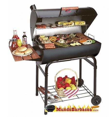 Barbacoas Chargriller Super Pro con carga de alimentos