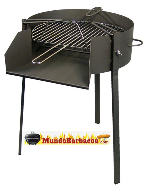 Barbacoa para paella