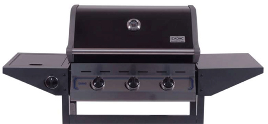 Barbacoa de Gas Cadac Entertainer 3 con quemador lateral