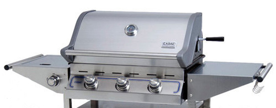 Barbacoa de Gas Cadac Entertainer 3 Supreme con quemador lateral