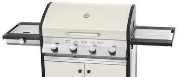 Barbacoa de Gas Cadac Meridian 4 blanco