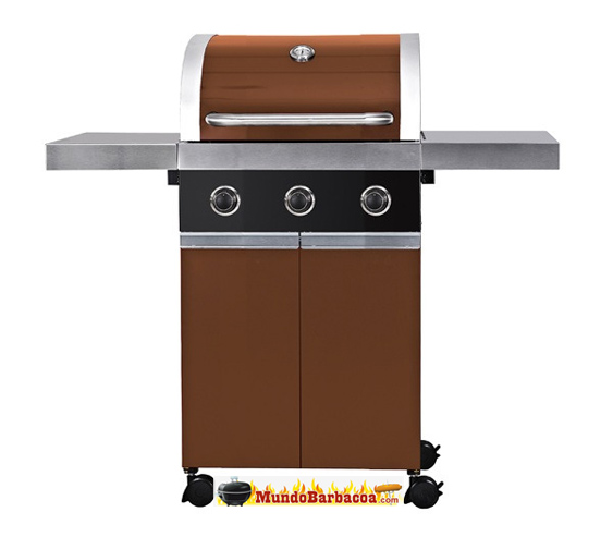 Barbacoas a gas Favells BronzGrill 1