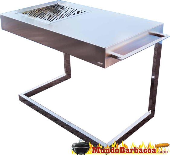 Barbacoa Fesfoc Akan Force Luxury, parrilla de acero inoxidable 120210001lx