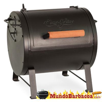 Barbacoa de carbón portátil Char-Griller ahumador BAR2424