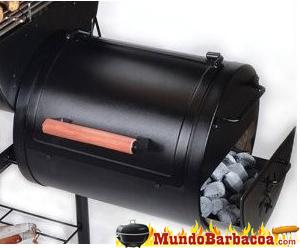 barbacoa Chargriller portátil con carbón