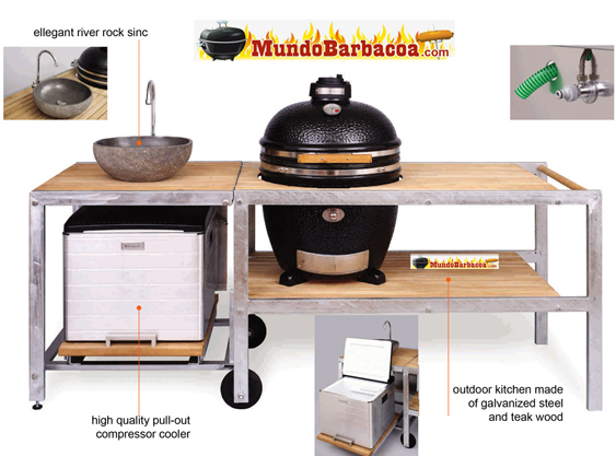 Kamado The Monolith Grill