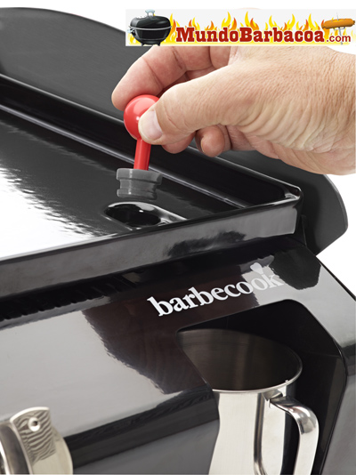 Tapón de la plancha a gas Barbecook Nicho 2.0