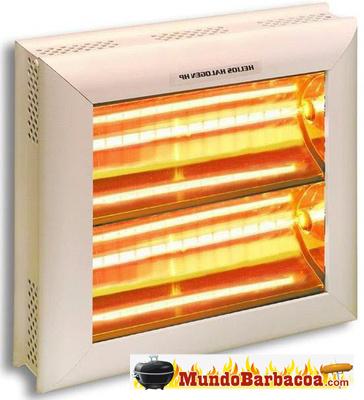 Estufas de infrarrojos Termigo Calefactor, alto poder calorífico HP2
