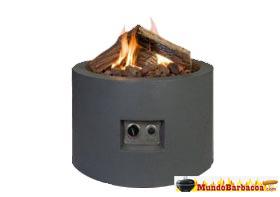 Estufa de exterior Termigo Cocoon gris antracita CCC